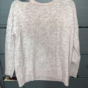 Simple mauve sweater